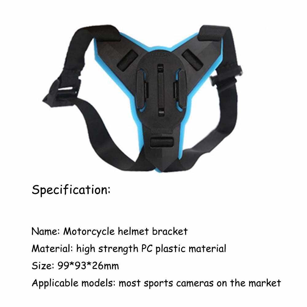 Полный шлем подбородка монтажный зажим для GoPro Hero 6 5 SJCAM мотоциклетный шлем подбородком стенд Камера аксессуары для Go Pro hero 5