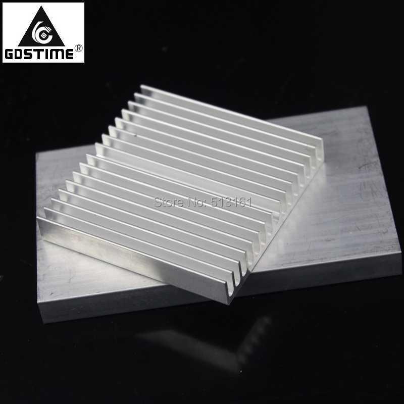 3pcs/lot Gdstime Heatsink 60x60x10mm Aluminum Heat Sink Radiator for LED IC Chip Cooling Cooler