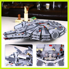 lepin 05007 1381pcs Millennium Falcon building blocks bricks marvel minifigures Kids Toys Compatible with ilegoe Star