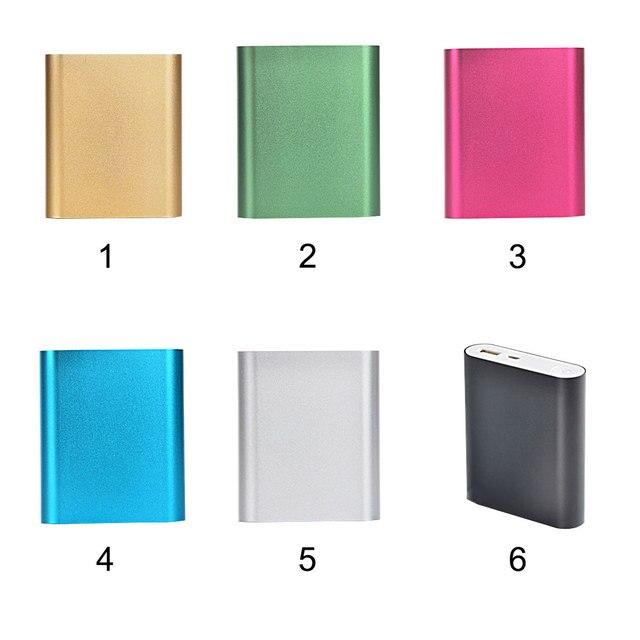 Centechia 1 cái 5 v 2.1A USB Ngân Hàng Điện Trường Hợp Kit 4X18650 Battery Charger DIY Hộp Cho MP3 /4 điện thoại