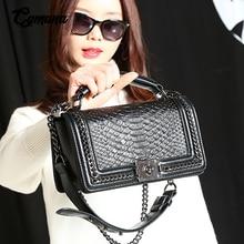 цена на Women Messenge Bags 2019 Genuine Leather Bag Fashion Female Leather Shoulder Bags Crossbody Bags Ladies Handbags Clutch Purses