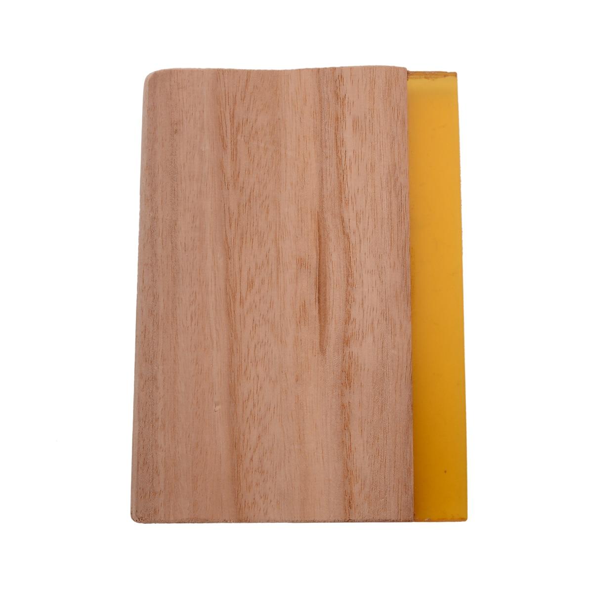 6 pulgadas de longitud Serigrafía Escurridor Mango de madera Seda - Piezas para maquinas de carpinteria - foto 3