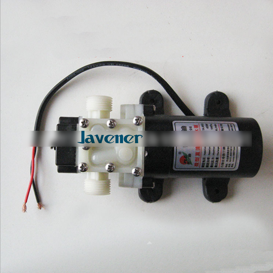 12 V DC Électrique Pompe à membrane de L'eau auto-amorçage booster pompe 1/2 BSP Mâle pour jardin voiture 3.5A 45 W 240L/H 4 M