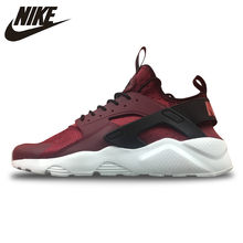 the best attitude ab49f 6f668 Original New Arrival Official Nike Air Huarache Run Ultra Men s and Women s  Claret Running Shoes Sneakers 819685-601 36-44.5