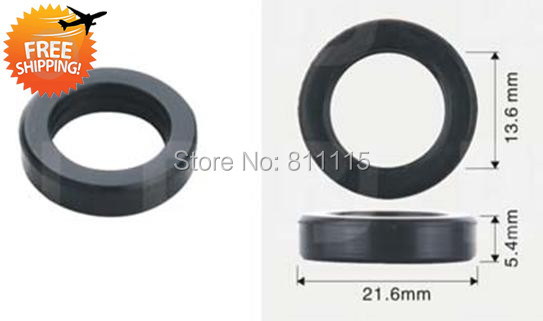 Fuel Injector Rubber Seal 21 6x13 6 x5 4mm 500pcs free shipping O Rings Repair Kits
