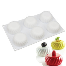 3D Silicone Mooncake Mold Baking Tools For Cake Pudding Mousse Desserts Pastry