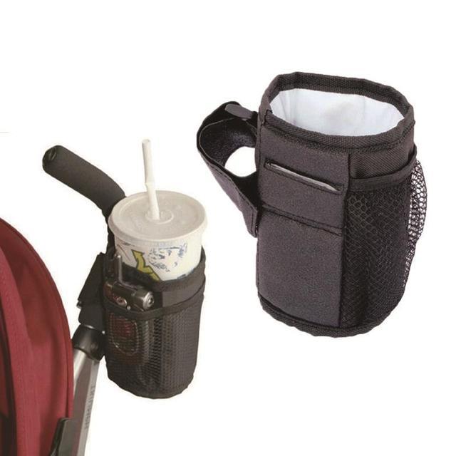 Hot Sale Baby Stroller Accessories Cup Holder Organizer Bag For Baby Stroller Carriage Pram Baby Bottle Holder