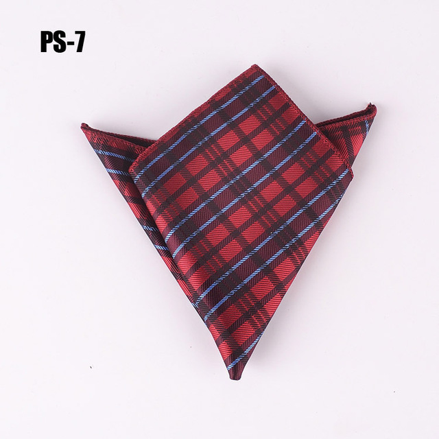 22 X Cm Fashion Men Pocket Square Size Formal Handkerchief Match Suit