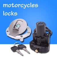 Motorcycle Ignition Fuel Gas Tank Cap Cover Lock For Yamaha XJR400 FZ400 XJR1200 XJR1300 YZF1000 YZF600 XJR 400 1300 1200