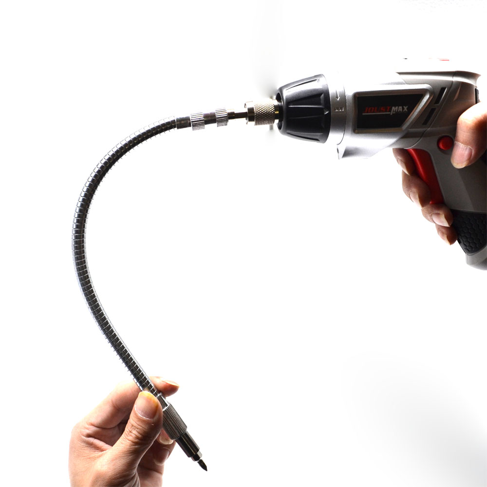 15cm/20cm / 30cm / 40cm Length 6.3mm Hex Shank Flexible Shaft Extension Drill Impact Driver Ratchet Screwdriver Extend Rod