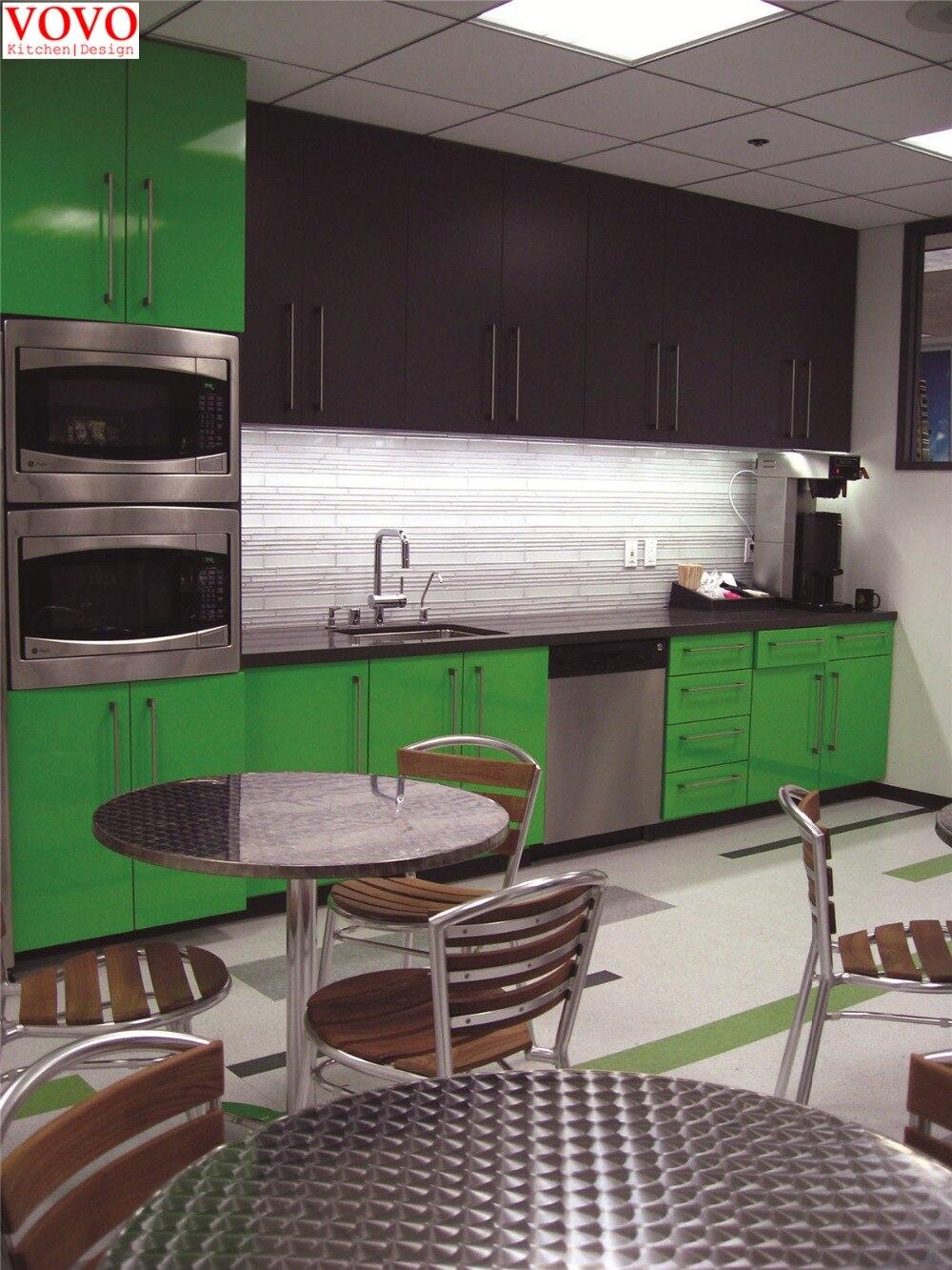 Online kopen Wholesale groene keukenkast uit China groene ...