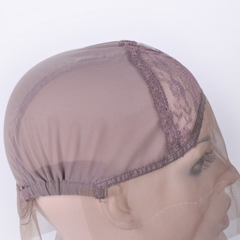 Lace Front Wig Cap For Wig Making Weave Elastic Hair Net Mesh Straps AdjustableLace Cap Making Wigs Accessory & Tools 3