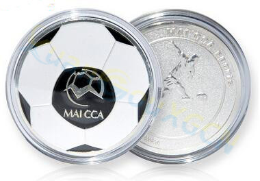 Soccer Football Champion Pick Edge Finder Coin Toss Referee Side Coin Judge Flipping Professional Soccer Match Supplies
