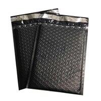 En plastique Poly Bubble Postale Mailer Expédition Rembourré Enveloppes Sacs/Épaissir Noir Couleur Antichoc Besaces Pouchs Enveloppe À Bulles