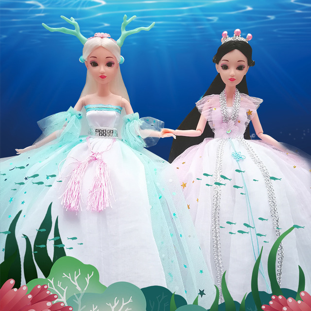 Beatiful Princess Doll for Children Girls Educational Model Toys Birthday Christmas Party Gifts For Kids Dolls