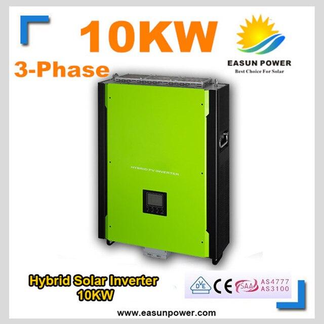 10KW Hybrid Solar Inverter EASUNPOWER 48V 380V Grid Tie