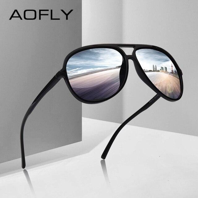 Gafas de sol polarizadas para hombre, gafas de sol polarizadas, diseño de  marca AOFLY 34c3b78b7a