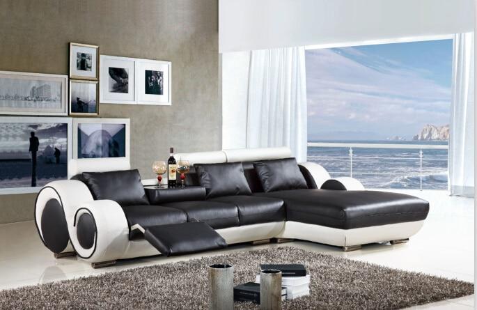 moderno mobili neri-acquista a poco prezzo moderno mobili neri ... - Angolo Divani In Copertina Nera