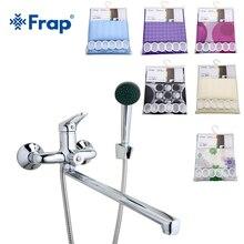 Frap New Arrival Bath Faucet with font b Shower b font font b Curtains b font