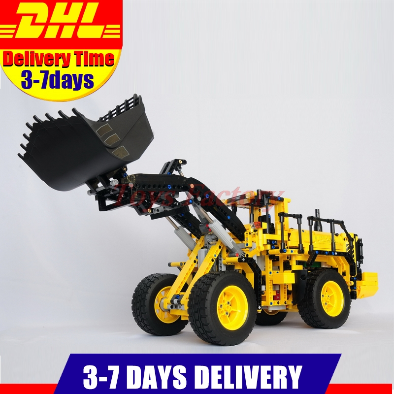 Clone 42030 MOC LEPIN 20006 Technic Series 1636pcs L350F Wheel loader Model Building blocks Bricks Gift