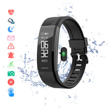 купить Smart Wristband Waterproof  Fitness Bracelet Heart Rate Monitor Smart Band Pedometer Activity Tracker Sleep Monitor Smart Watch онлайн