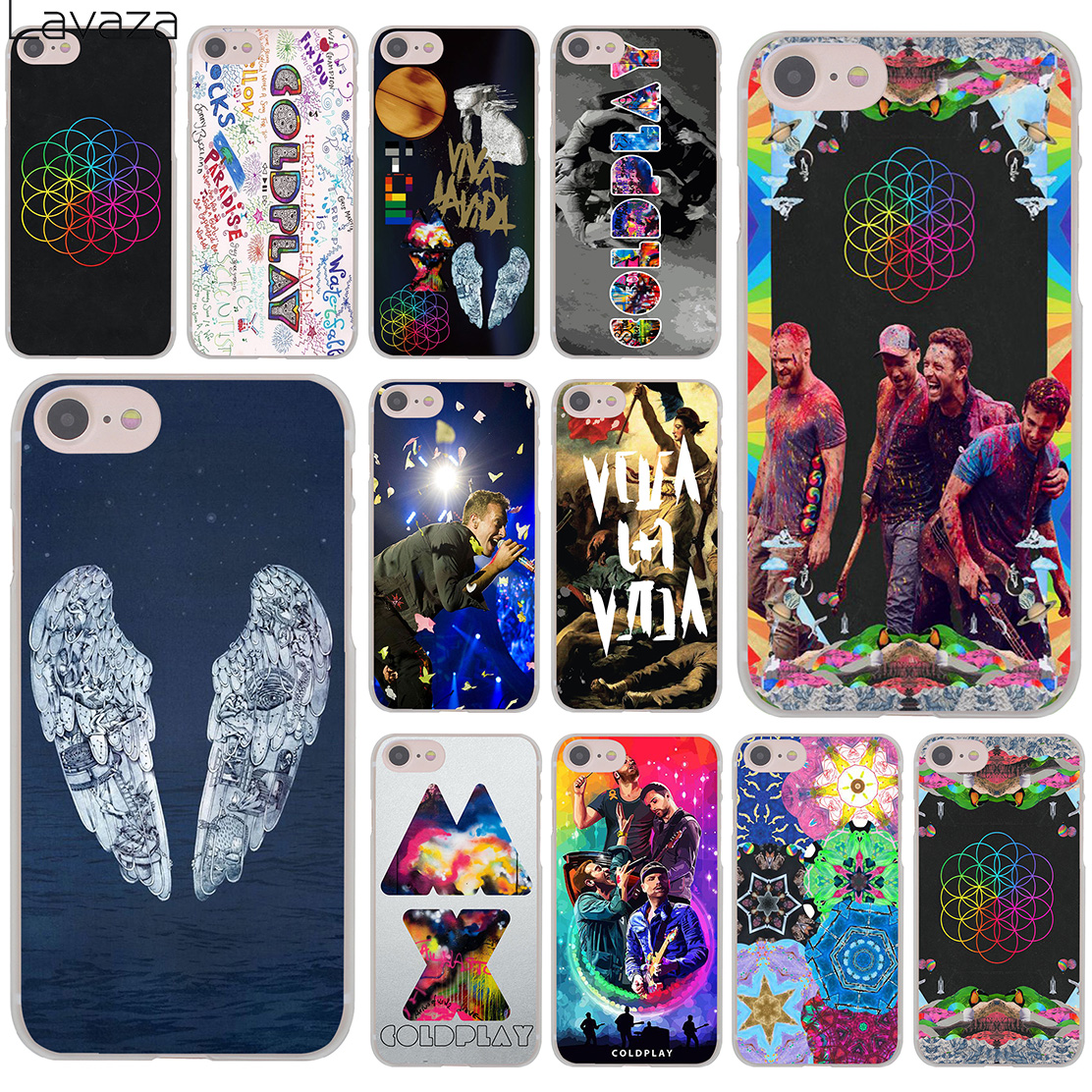 Lavaza Coldplay John Martin Hard Phone Cover Case For IPhone XR X 11 Pro XS Max 8 7 6 6S 5 5S SE 4S 4 10