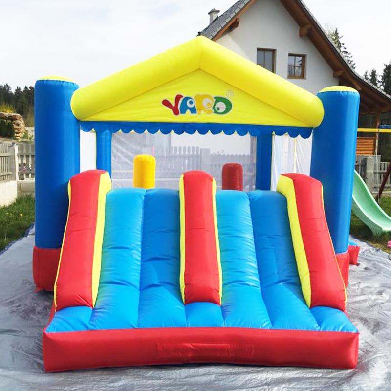 YARD Big Inflatable Bounce House Doppelseiten 5 x 4 x 2,7 m - Outdoor-Spaß und Sport - Foto 5