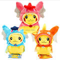 20cm Pokemon Pikachu Cosplay Gyarados Magikarp Flash Cartoon Video Movies PP Cotton Stuffed Animals Plush Toys Anime Kids Gift