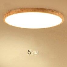 Современный потолочный светильник высотой 5 см ультра-тонкий светодиодный потолочный светильник, потолочные светильники для гостиной люстры потолок для зала