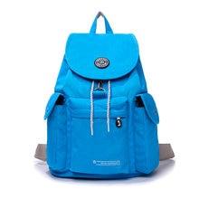 8b3ba007a 2017 verano nueva mochila estilo preppy mochila de nylon impermeable bolsa  de viaje mujer mochila bolsas