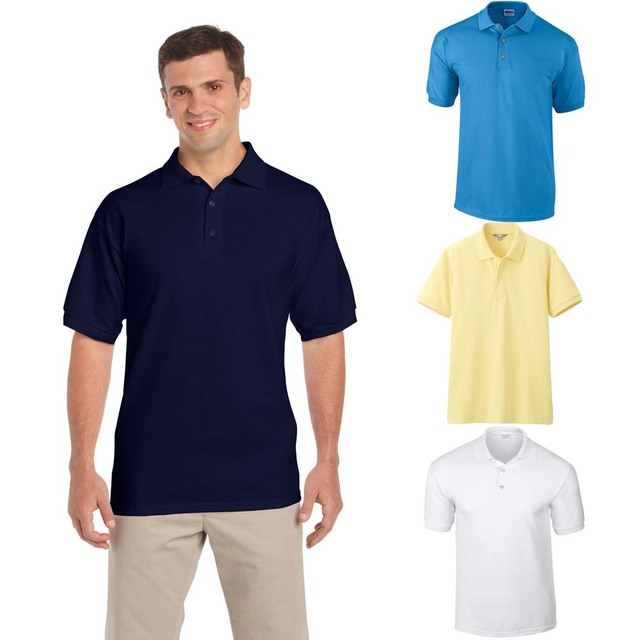 2016 Summer Fit Style Mens Polo Shirt Short Sleeve Solid Color Casual Tee Shirt Cotton Tops