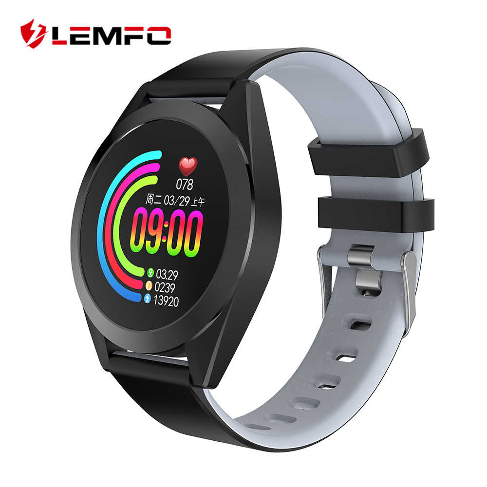 LEMFO G50S 1.3 Inch Round Screen Smart Watch Men Ip67 Waterproof Heart Rate Blood Pressure Monitor 30 Days Standby Smartwatch