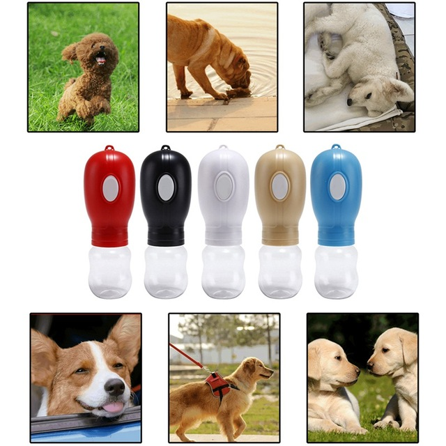 330ml Portable Pet Dogs Water Bottle Travel Dog Bowl Cups Dogs Cats Feeding Water Outdoor For Puppy Cat Dog Feeding Pets Product 1