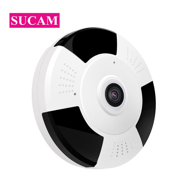 SUCAM Full HD 1080P Mini Wifi Camera Panoramic 360 Degree Viewing Angle 3D VR 2MP Wifi IP Camera 10M Night Vision with IR Cut pvt 898 5g 2 4g car wifi display dongle receiver airplay mirroring miracast dlna airsharing full hd 1080p hdmi tv sticks 3251