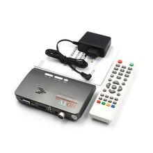 Jninsens 1080 P HDTV DVB-T/DVB-T2 TV Set-top Box Digital Terrestre Receptor Sintonizador HDTV HDMI/VGA/AV para LCD/CRT Monitor de PC