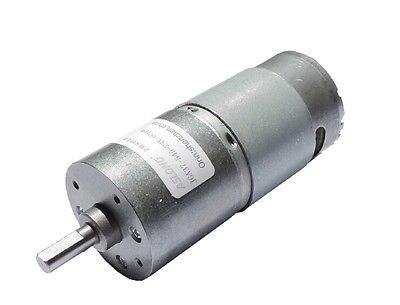 DC 24V 60RPM Soldering 37mm Diameter Geared Box Speed Reduction Mini Motor  цены
