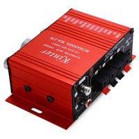 Kinter MA - 170 Mini 12V 20W HiFi Stereo Audio Car Power Amplifier Booster DVD MP3 Speaker Support LED Shinning Volume Control
