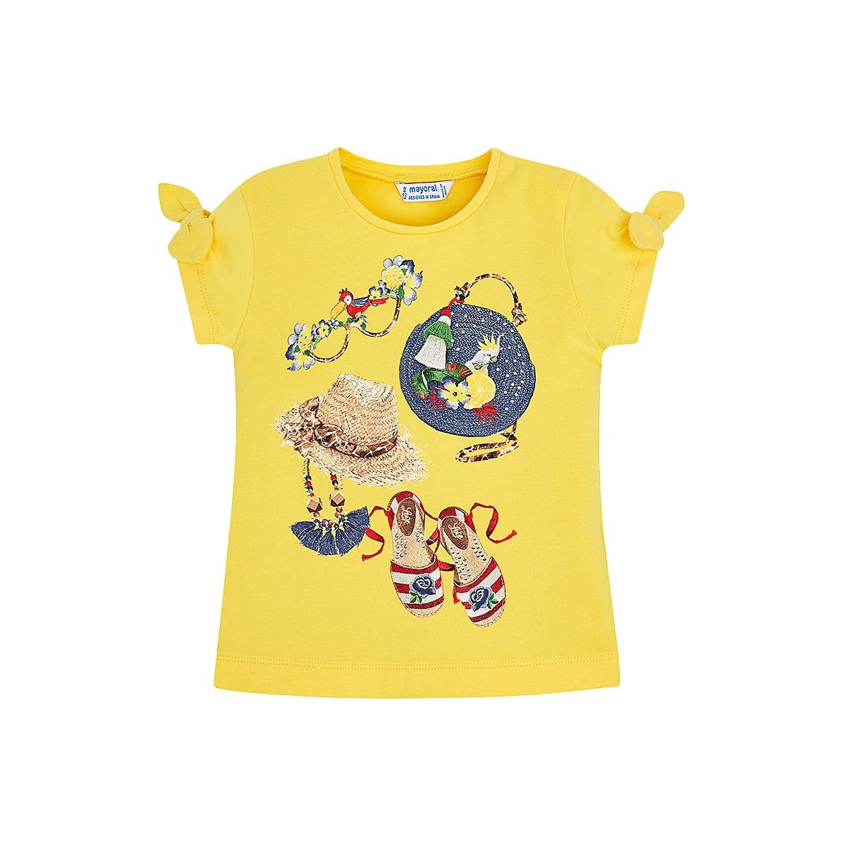 T-Shirts MAYORAL 10678540 Children sClothing T-shirt with short sleeves polo shirt for boys and girls