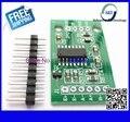 1 шт. бесплатная доставка Двухканальной HX711 Взвешивания Датчик Давления Точность 24-битный A/D Модуль Для Arduino