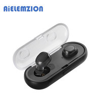 AiELEMZION TWS 16 True Wireless Bluetooth Stereo Earphones Earbuds with Microphone Charger Box for Smart Phones