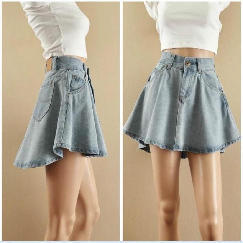 Flare Jeans Skirt Reviews - Online Shopping Flare Jeans Skirt ...