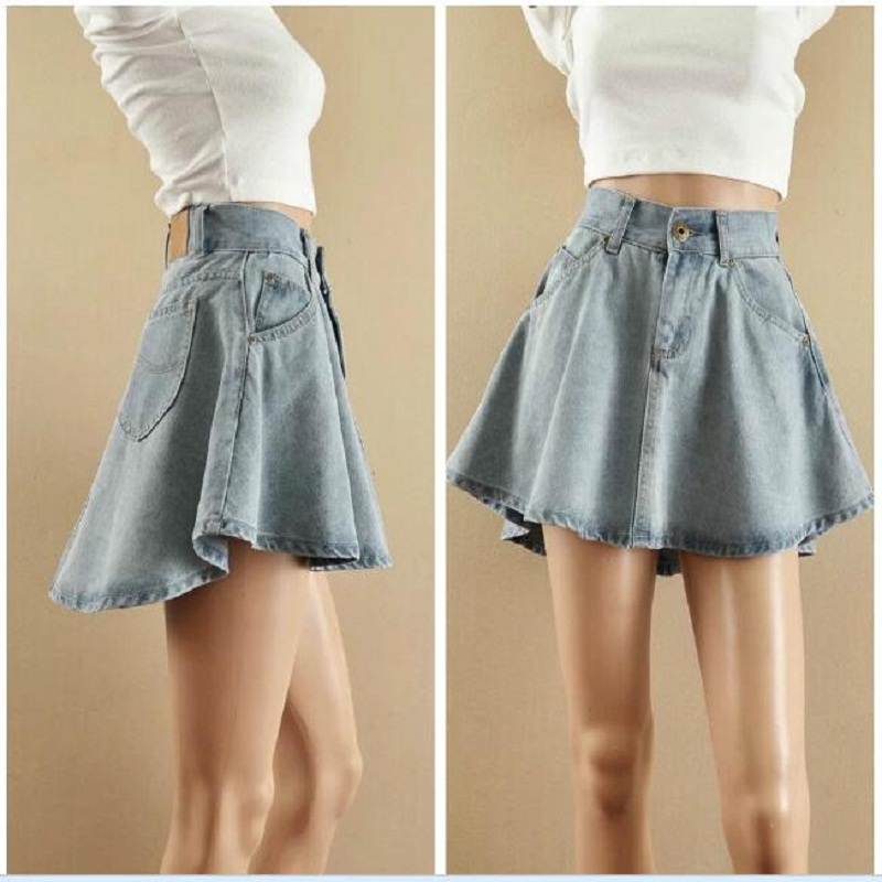 Compare Prices on Flare Denim Skirt- Online Shopping/Buy Low Price ...