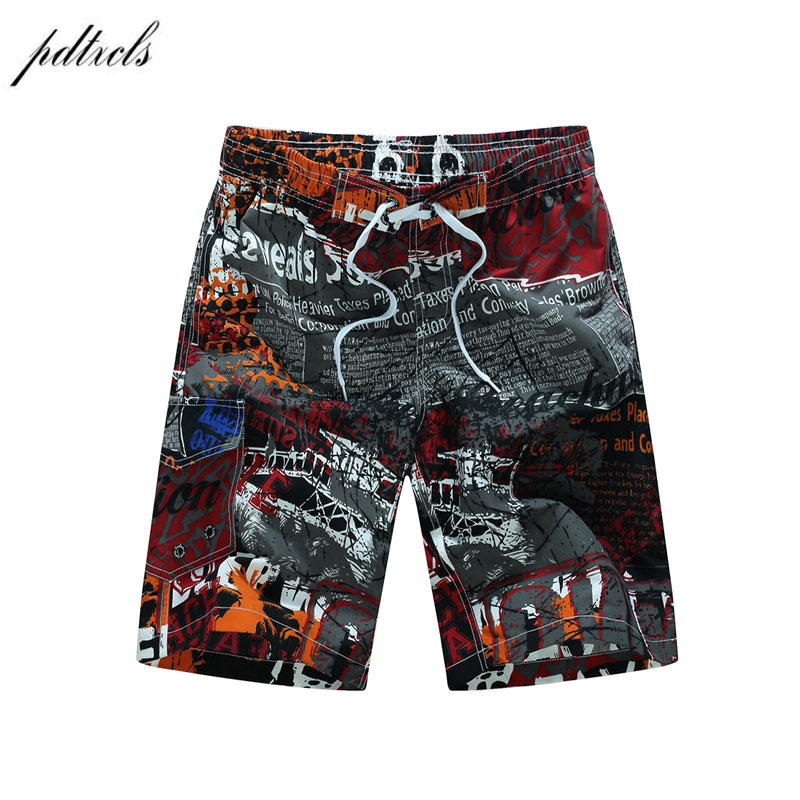 Summer Quick-drying   Board     Shorts   Trunks Mens Beach   Shorts   Fashion Printed Beach   Shorts   Bermuda MasculinaDe Marca Homme   Short