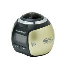 Vr 360 панорамный Камера 0.96 дюймов Экран Wi-Fi мини 360 градусов 3D Водонепроницаемый Спорт Вождения 360 действие Камера для Android /IOS