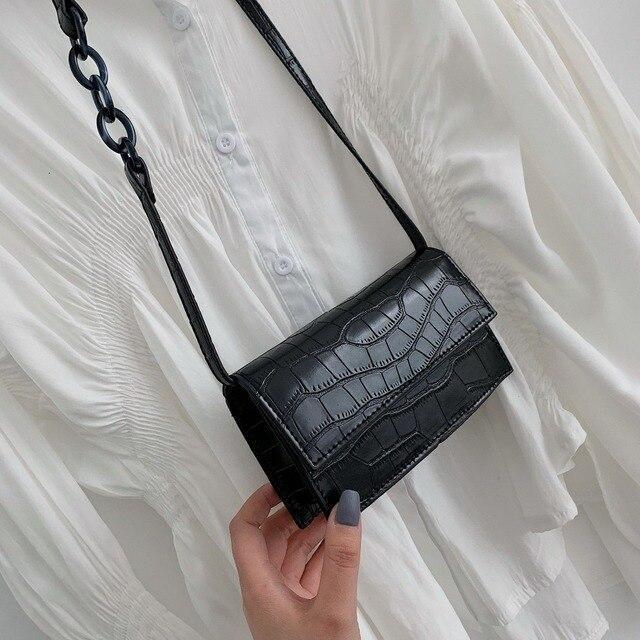Mini Stone Pattern Crossbody Bags  1