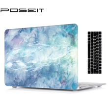 Marble Protective Hard Shell Case Keyboard Skin Cover Set For 11 12 13 15″ Apple Macbook Pro Retina Touch Bar Air A1466 A1369 SR