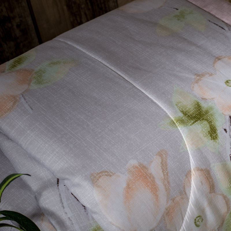 Ev ve Bahçe'ten Yatak Örtüsü'de Tencel keten pamuk kumaş zengin çiçek baskı lüks yatak örtüsü battaniye yatak örtüsü yorgan 150*200 cm ve 200*230 cm'da  Grup 3