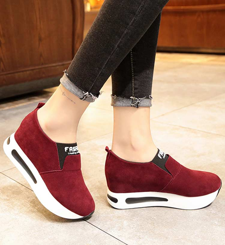 Vulcanize shoes women casual shoes 2019 new fashion solid pu women sneakers slip-on breathable shoes woman zapatos de mujer (19)