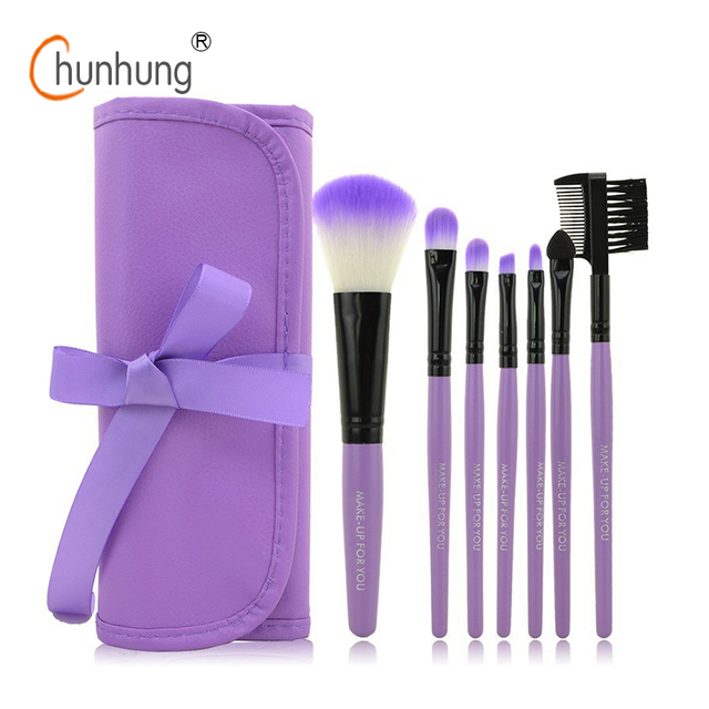 Professional 7 PCS Makeup Brushes