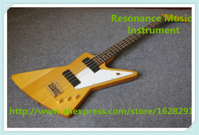 Cheap New Arrival Chinese 4 String Bass Guitars In Yellow Color Left Handed Custom Available